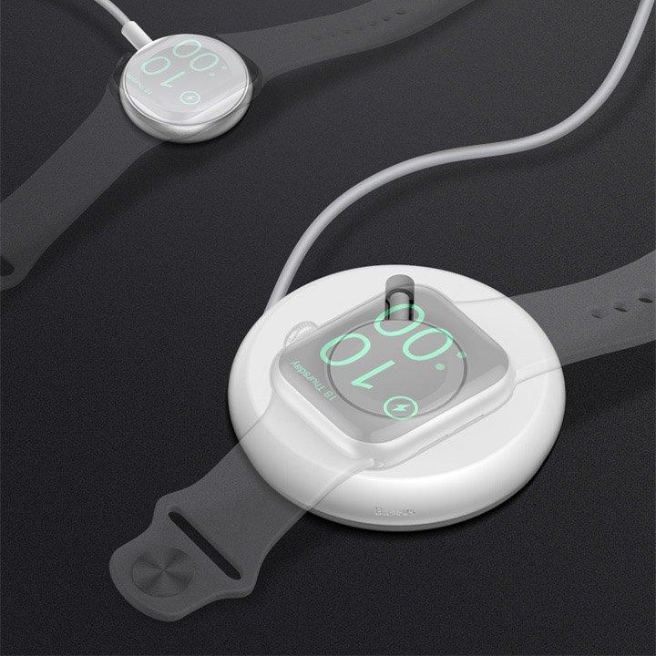 Аксессуар Baseus YOYO Wireless Charger White WXYYQIW03-02 - фото 5