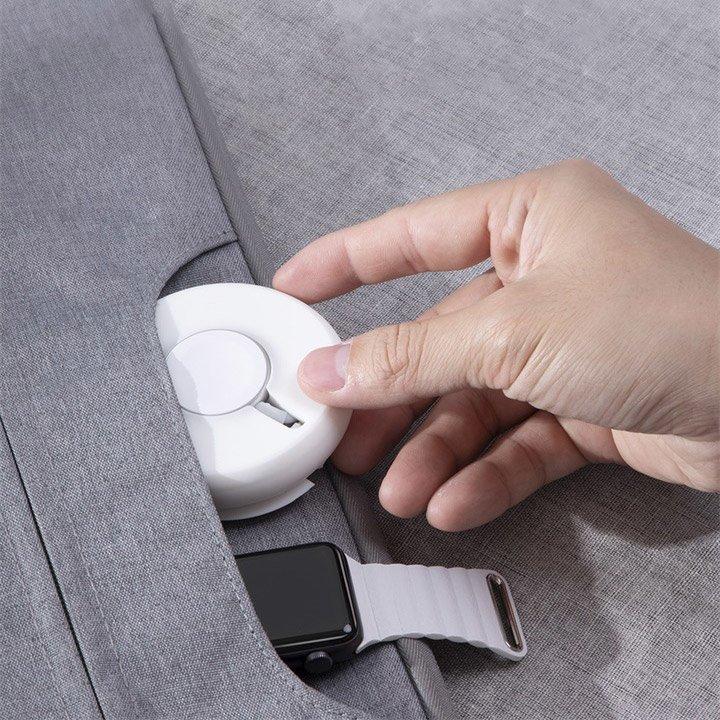 Аксессуар Baseus YOYO Wireless Charger White WXYYQIW03-02 - фото 7