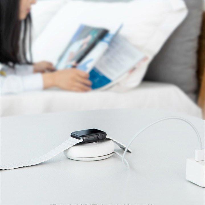Аксессуар Baseus YOYO Wireless Charger White WXYYQIW03-02 - фото 4