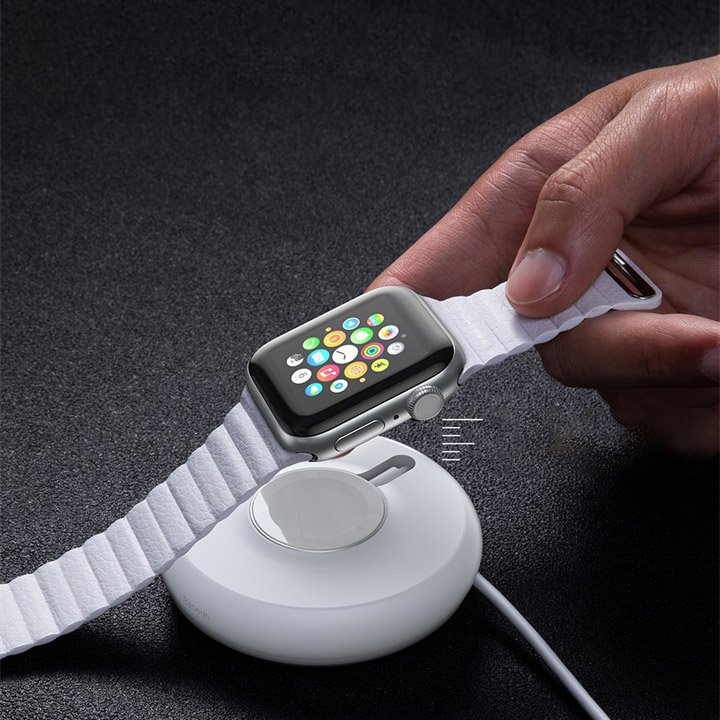Аксессуар Baseus YOYO Wireless Charger White WXYYQIW03-02 - фото 3