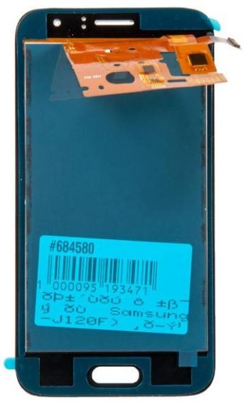 Дисплей RocknParts для Samsung Galaxy J1 SM-J120F 2016 TFT в сборе с тачскрином Black 684580 - фото 1