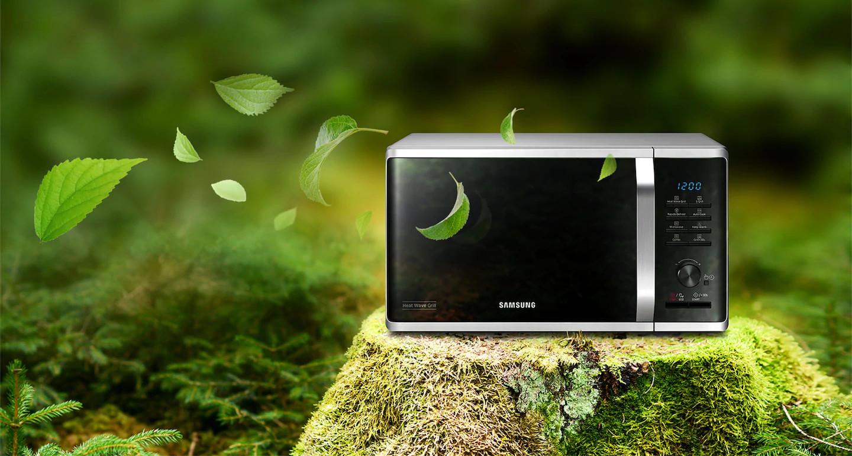 Микроволновая печь Samsung MG23K3515AK - фото 5