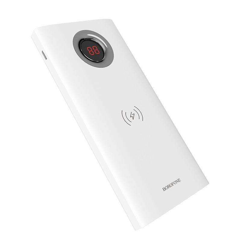 Аккумулятор Borofone BT16 AirPower 10000mAh White - фото 1