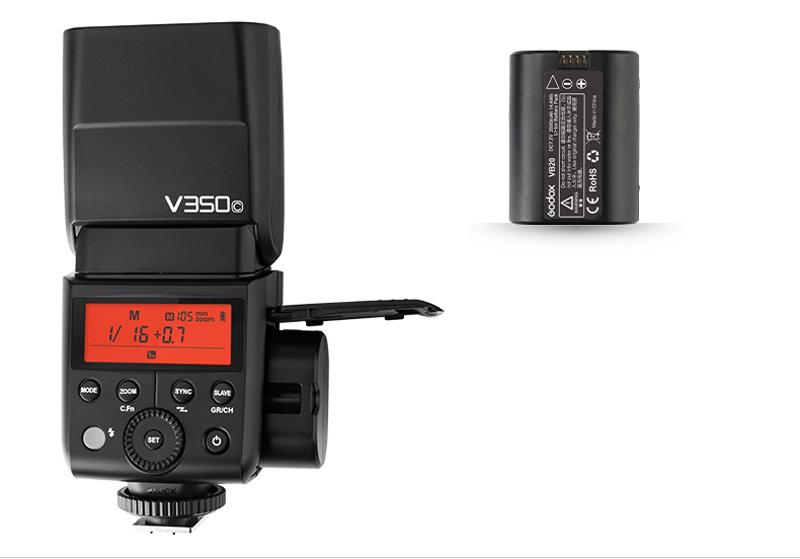 Вспышка Godox Ving V350C TTL для Canon 26309 - фото 1