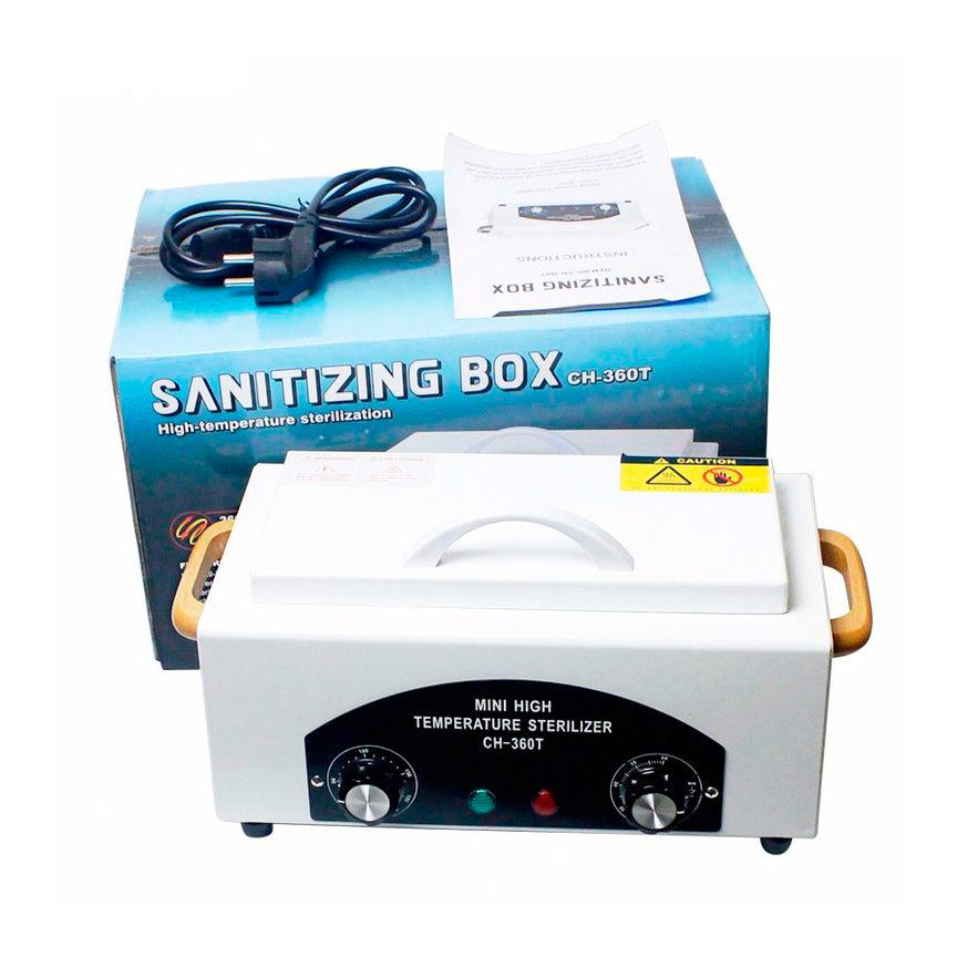 Сухожар для стерилизации CH-360T 300Ватт для маниюрных инструментов - фото d77817059481638c2a63155185b52736.jpg