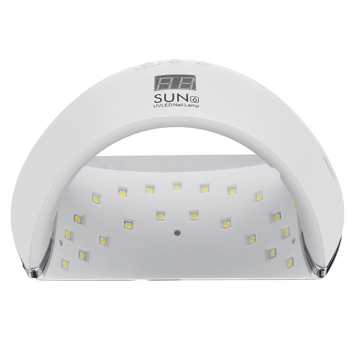Лампа для маникюра SUN 6 48W Smart 2.0 с дисплеем led - фото e9f057d2-7e1e-4e5a-b6f6-7337ffec5bac.JPG