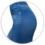 Женские брюки-леггинсы  для похудения Slim N Lift Caresse Jeans - фото 4