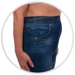 Женские брюки-леггинсы  для похудения Slim N Lift Caresse Jeans - фото 2