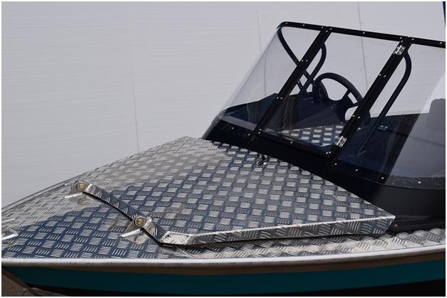Лодка алюминиевая Wellboat NewStyle 433 классика - фото c1a6db5451cf6c04aa31f514087ee4b3.png