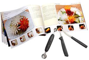 Набор ножей для карвинга в кейсе, ножи для карвинга, карвинг из овощей и фруктов - фото Подробнее о наборе для карвинга