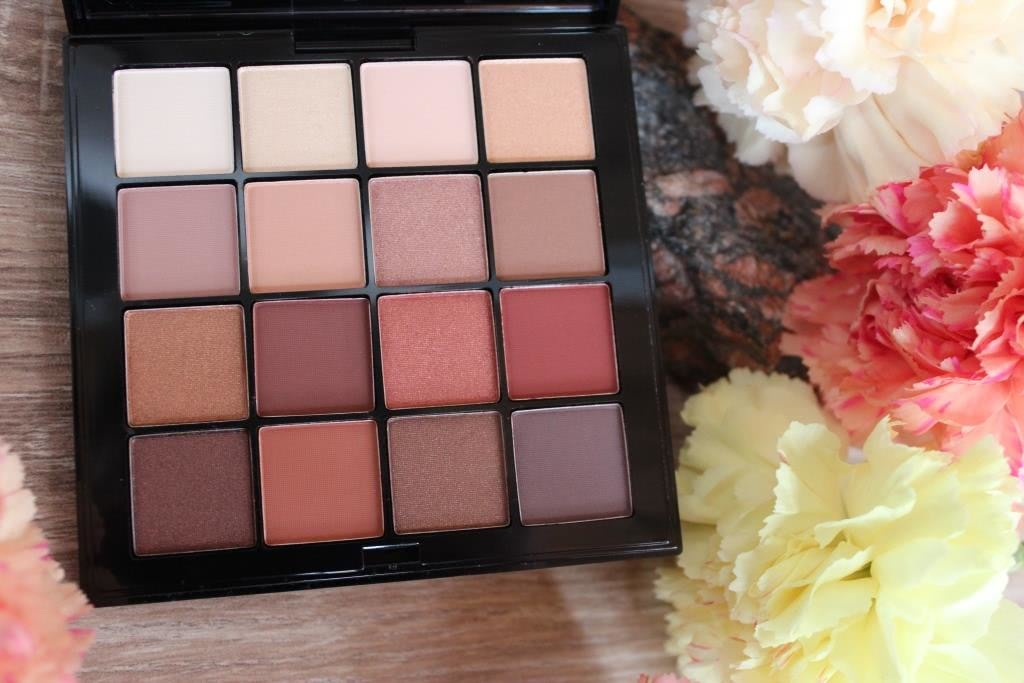 NYX Ultimate Shadow Palette USP03 Warm Neutrals
