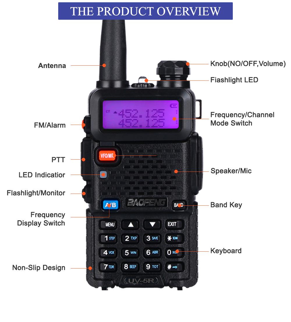 Рация Baofeng UV-5R 136-174 и 400-520 МГц для охоты - фото UV-5R_07