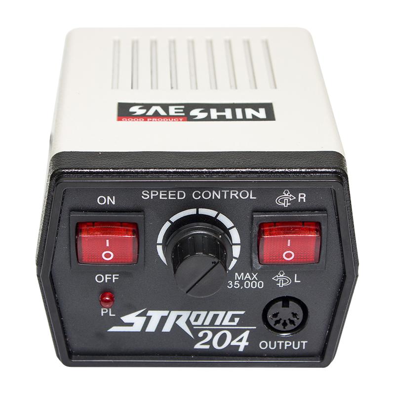 Аппарат для маникюра Strong 204 35т.о. 65Ватт фрезер - фото 4