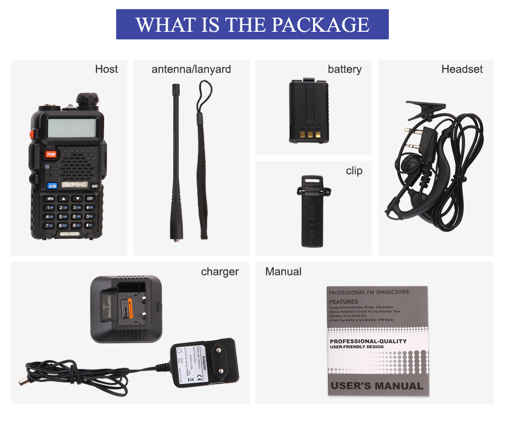 Рация Baofeng UV-5R 136-174 и 400-520 МГц для охоты - фото UV-5R_06