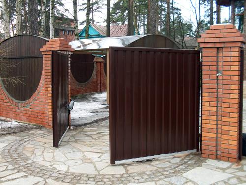 Распашные ворота заказать Киевская область Киев