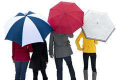 Зонты - фото under-umbrellas-rain-13152458.jpg