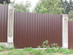 фото забор для дачи