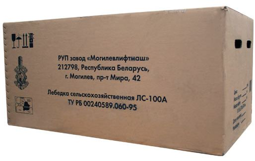 вид упаковки Электроплуга ЛС100-А