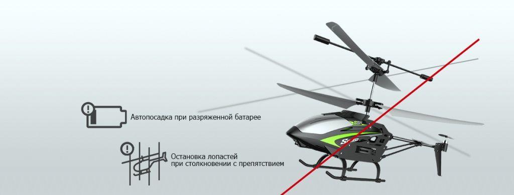 Радиоуправляемый вертолет Syma S5H 2.4GHz купить в минске (6).jpg