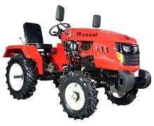 Мини-трактор Rossel XT-184D (18 л.с., ВОМ, дифференциал) - фото Порошковая покраска.jpg