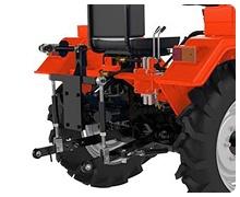 Мини-трактор Rossel XT-184D (18 л.с., ВОМ, дифференциал) - фото Работа с любым навесным 1 3 точки.jpg