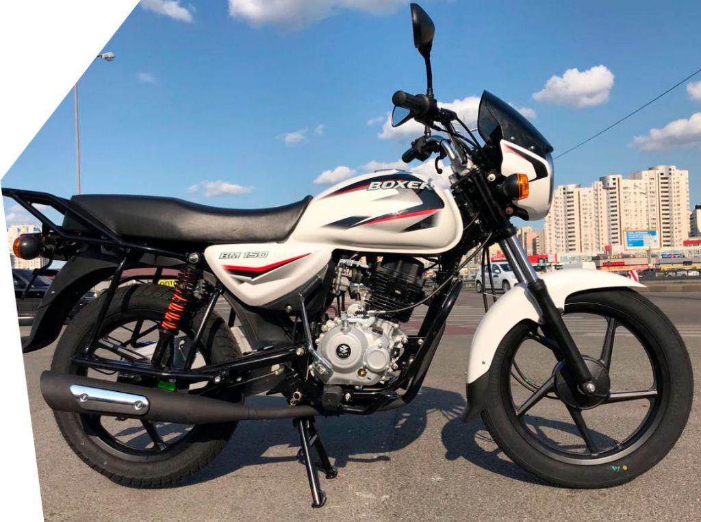 Мотоцикл Bajaj Boxer BM 150 UG - фото 6-150boxer.jpg