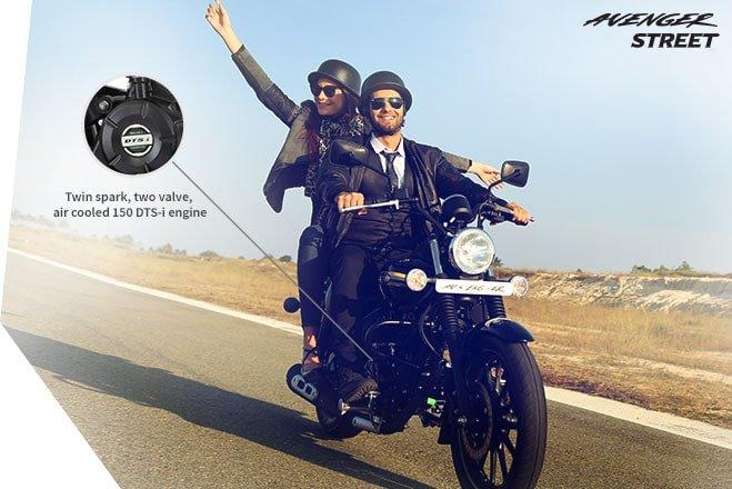 Мотоцикл BAJAJ Avenger Street 220 DTS-i - фото performance.jpg