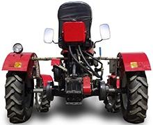 Мини-трактор Rossel XT-184D (18 л.с., ВОМ, дифференциал) - фото Регулируемая колея.jpg