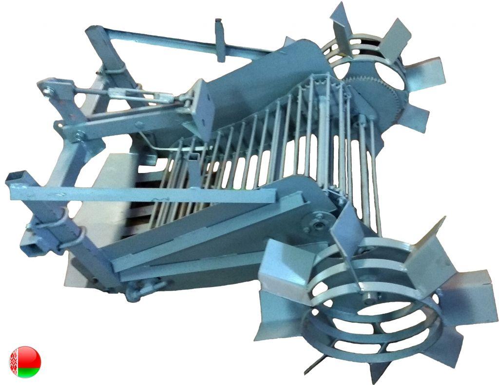 универсальная транспортёрная картофелекопалка КМ-4