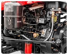 Мини-трактор Rossel RT-244D дизельный (24 л.с., трехцилиндр.) - фото Передача мощности без потерь.jpg