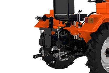 Мини-трактор Schneider Т-24 (24 л.с., BOM, 1100 куб. см, регулир. колея, гидравлика) + Подарки - фото Кентавр Т-18D-3.jpg