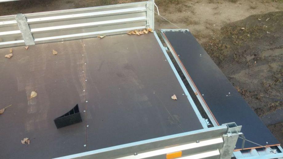 Прицеп для легковых автомобилей МЗСА (3.12x1.51) - фото прицеп мзса