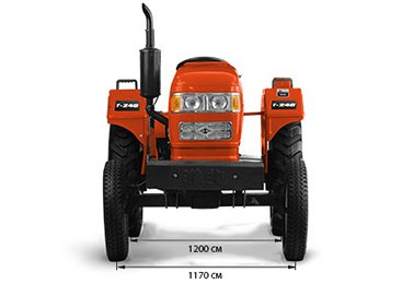 Мини-трактор Кентавр Т-240 (24 л.с., BOM, 1246 куб. см, ременная передача, гидравлика) - фото 03-koleja.jpg