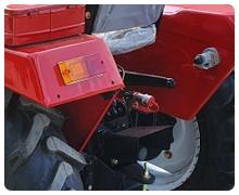 Мини-трактор Rossel RT-244D дизельный (24 л.с., трехцилиндр.) - фото Доработанная гидравлика (4 положения).jpg