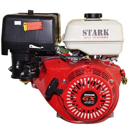 Мощный двигатель мотоблока Stark ST-1800KM с пониженной передачей