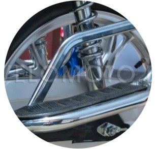 Подставка для ног на мотоцикле
