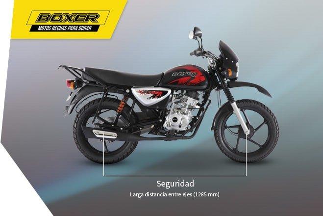 Мотоцикл BAJAJ Boxer BM 125 X - фото seguridad-caracteristicas-boxer-659-x-440.jpg