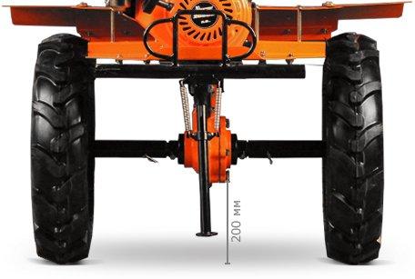 Мотоблок Кентавр 2016 Б (16 л.с., колеса 6х12, ВОМ, 145 кг) + Подарки - фото 2080B-8.jpg