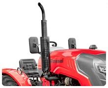 Мини-трактор Rossel RT-244D дизельный (24 л.с., трехцилиндр.) - фото Глушитель.jpg