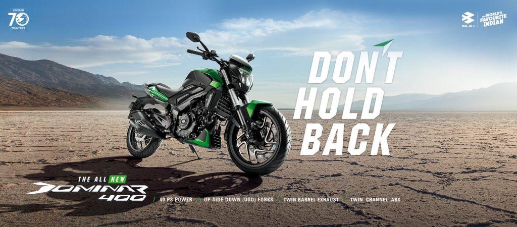 motorcycle bajaj dominar 400 special edition