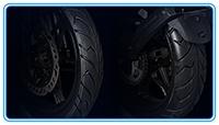 бескамерные шины и литые диски voge 300r