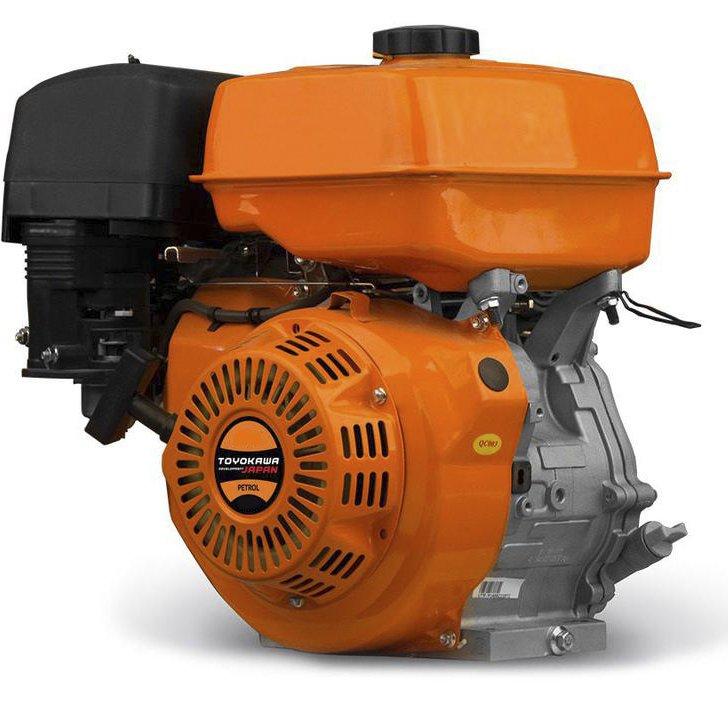 Мотоблок Schneider SM-10 (9 л.с., колеса 5х12, ВОМ, 110 кг) + Подарки - фото двигатель toyokawa