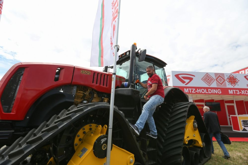 трактор Беларус 3525 Белагро 2018