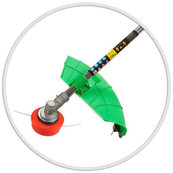 Бензокоса (триммер) DGM-Stihl BC-240 (2400 Вт, легкий пуск)  + Подарки - фото защитный кожух триммера DGM bc 240