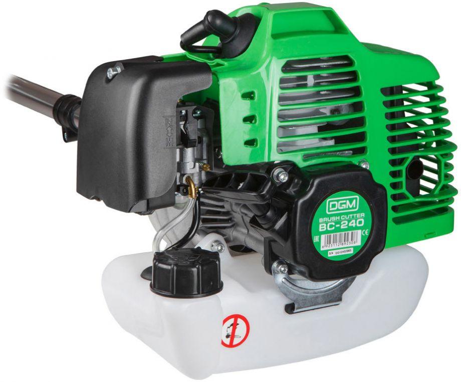 Бензокоса (триммер) DGM-Stihl BC-240 (2400 Вт, легкий пуск)  + Подарки - фото двигатель мотокосы DGM BC 240