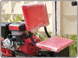 мягкое сиденье мотоблока с адаптером штенли