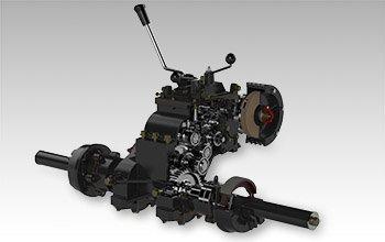 Мини-трактор Shtenli T-180 (18 л.с., ВОМ, 1120 куб. см, две гидравлики) + Подарки - фото kpp.jpg