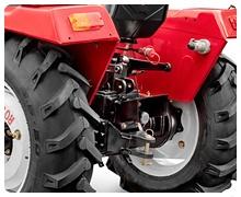Мини-трактор Rossel RT-244D дизельный (24 л.с., трехцилиндр.) - фото навесным оборудованием.jpg