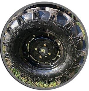 большие колёса мотоблока Rossel М-318