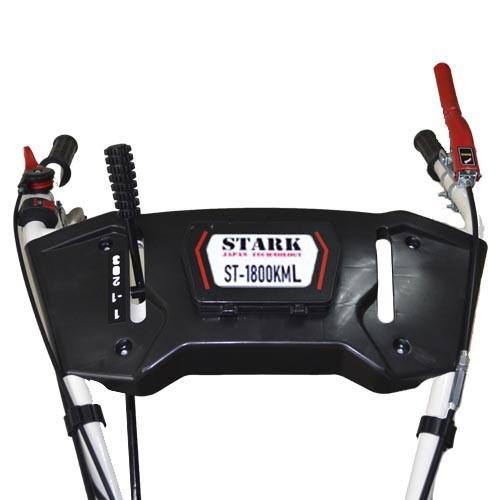 В модели мотоблока ST-1800 новый эргономичный руль